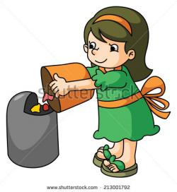 Trash clipart cartoon