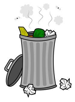 Trash clipart comic