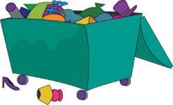 Trash clipart dumpster