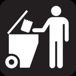 Litter clipart dumpster