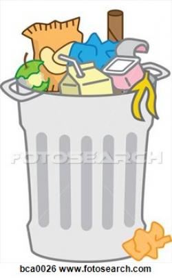 Trash clipart full