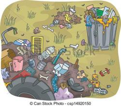 Trash clipart industrial waste