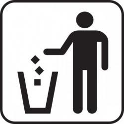 Trash clipart logo