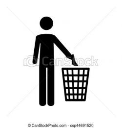 Trash clipart pictogram