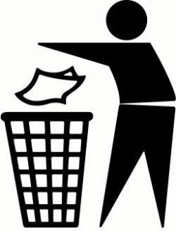 Trash clipart symbol