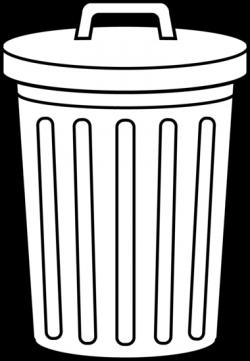 Litter clipart rubbish bin