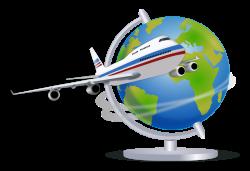 Flight clipart study tour