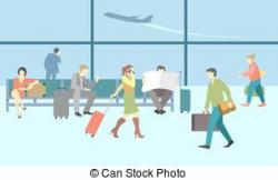 Departure clipart travelers
