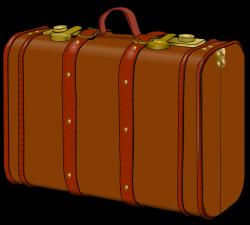 Suitcase clipart vintage suitcase