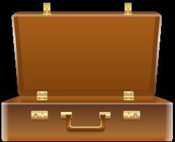 Suitcase clipart open suitcase