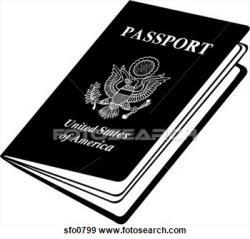 Cover clipart us passport