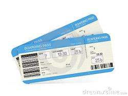 Travel clipart plane ticket