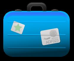 Suitcase clipart transparent