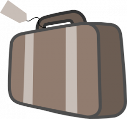 Suitcase clipart animated