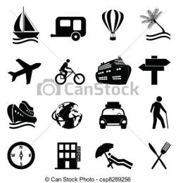 Leisure clipart black and white