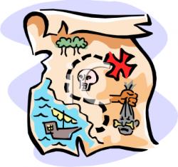 Map clipart quest
