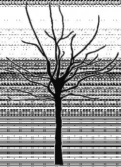 Barren clipart family tree
