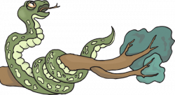 Serpent clipart branch