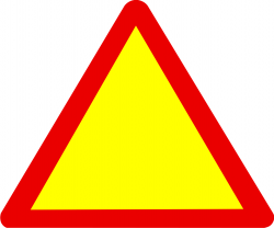 Danger clipart warning sign