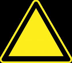Danger clipart blank