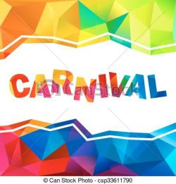 Triangle clipart carnival