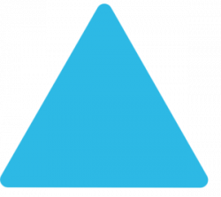 Triangle clipart curved