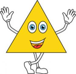 Triangle clipart cute