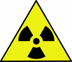 Nuclear clipart caution