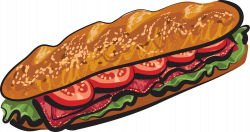 Bread Roll clipart deli sandwich