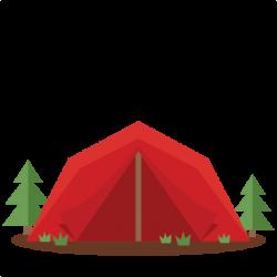 Tent clipart cute