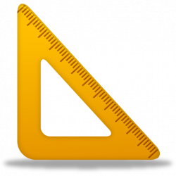 Triangle clipart triangle ruler