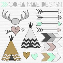 Tribal clipart tribal print