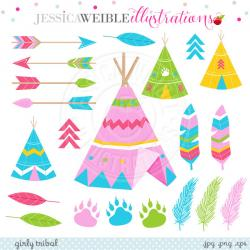 Tribal clipart decoration
