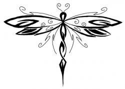 Celt clipart dragonfly