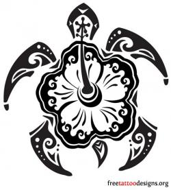 Polynesia clipart black and white