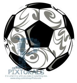 Tribal clipart soccer