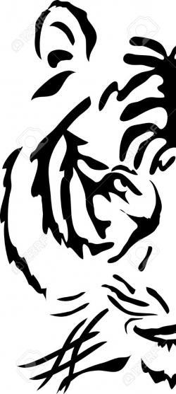 Tribal clipart tiger