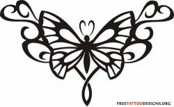 Tribal clipart tramp stamp
