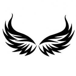 Tribal clipart wing