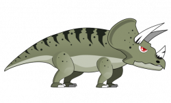 Extinct clipart triceratops