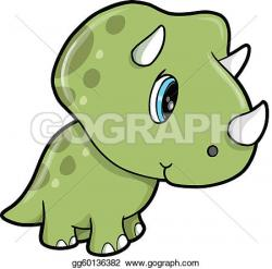Baby clipart triceratops