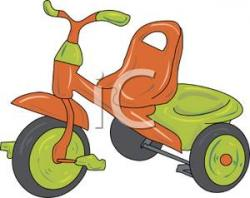 Tricycle clipart children's