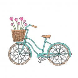 Pushbike clipart romantic