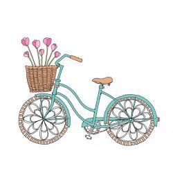 Pushbike clipart romantic