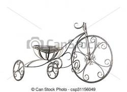 Tricycle clipart metal
