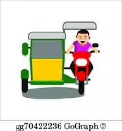 Tricycle clipart pinoy