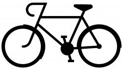 Shaow clipart bike