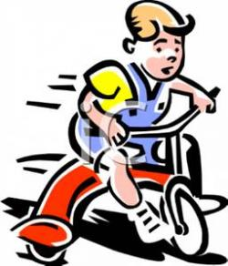 Tricycle clipart toddler