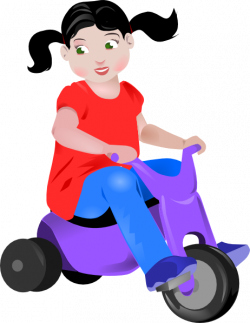 Tricycle clipart trike