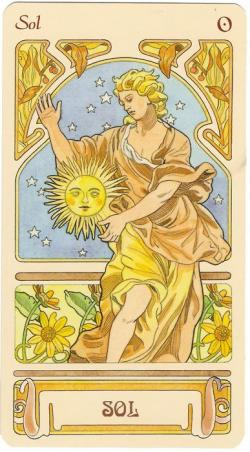 Tarot Cards clipart moon